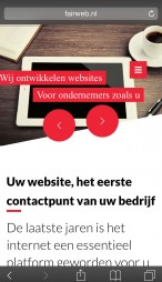 fairweb mobiele website