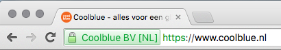 SSL Certificaat met groene adresbalk